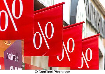 retail, price reduction percentage