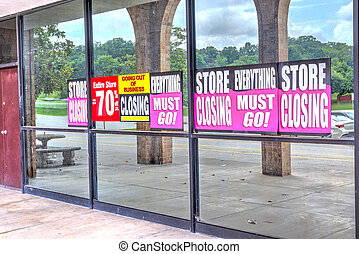 Retail Store Going Out of Business After Pandemic