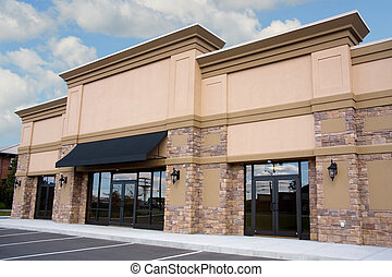 Retail Storefront - Newly constructed retail storefront with...