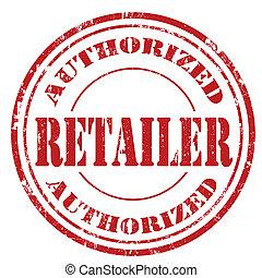 retailer-stamp, autorizado