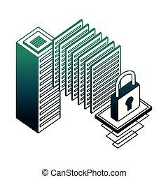 rete, database, server, sicurezza, centro dati