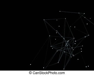 rete, effetto, motion., concetto, di, internet, condivisione