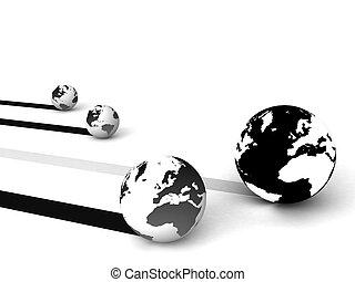 rete globale, marketing