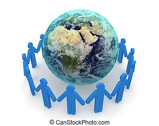 rete, sociale, concetto