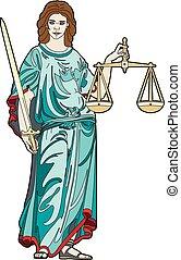 retfærdighed, gudinde