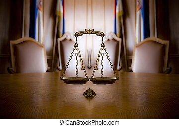 retfærdighed skalaer