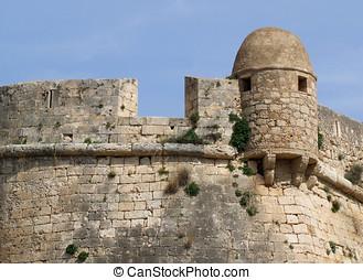 Rethymnon Fort - Venetain fort in Rethymnon, Crete