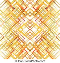 reticulate, resumen, pattern., textura, parrilla, malla, ...