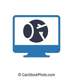 retina glyph color icon