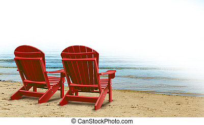Retirement Aspirations and financial planning symbol with...