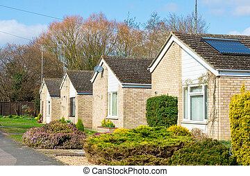 Retirement bungalows