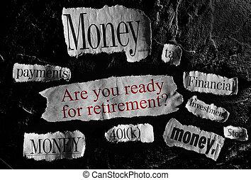 retirement concept