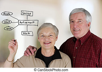 Retirement Planning - A married couple planning their...