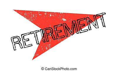 Retirement rubber stamp