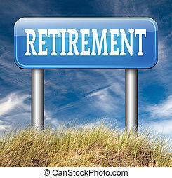 retirement - enjoy yor retirement by a decent pension plan...