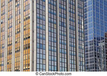 Retiro business district in Buenos Aires, Argentina -...