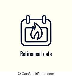 retiro, saliente, monetario, ahorros, imágenes, icono