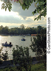 Retiro's Park Madrid 1