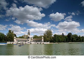 Retiro's park - Madrid