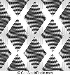 Reto zigzag seamless pattern