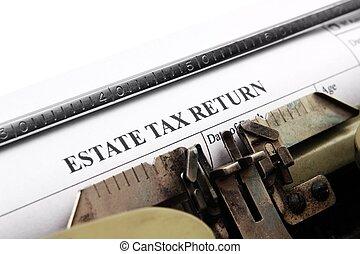 retorno imposto, propriedade
