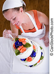 Retouching Wedding Cake