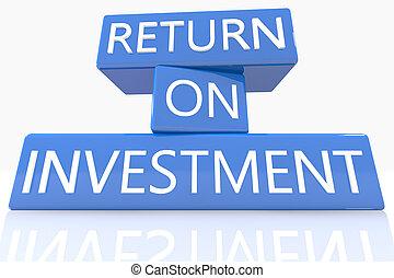retour, investissement