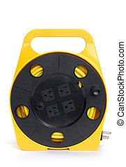 Retractable Extension Cord Reel - Retractable extension cord...