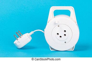 Retractable phone cord