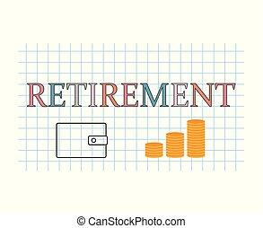 retraite, concept