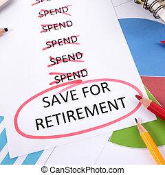 retraite, planification