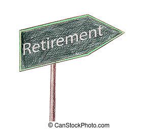 retraite, signe