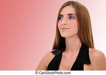 retrato mulher