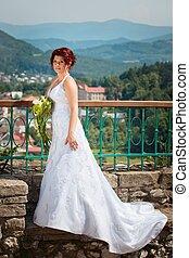 retrato, noiva
