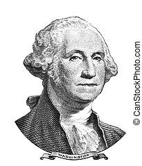 retrato, washington george