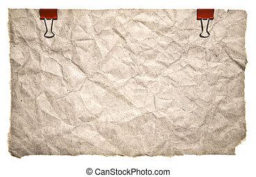 retro αιχμηρή απόφυση , χαρτί