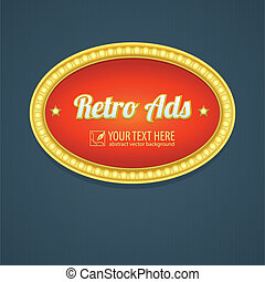 retro , μοτέλ , σχεδιάζω , διαφήμιση αναχωρώ