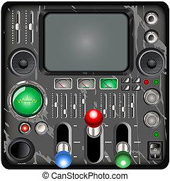 retro, 控制面板