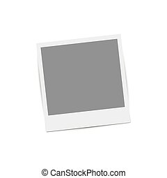 retro, 相片, frame.