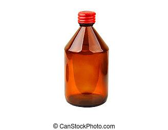retro, 醫學, 瓶子