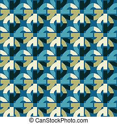 retro, 떼어내다, seamless, 패턴