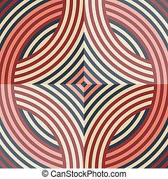 retro, 벽지, seamless, 패턴