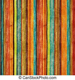 retro, 줄무늬, 패턴
