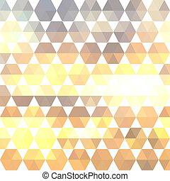 retro, 패턴, 의, 기하학의 형체