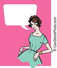 Retro 1950s Housewife