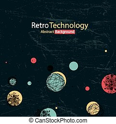 Retro Abstract Background