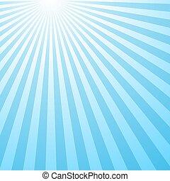 Retro abstract gradient sun burst pattern background
