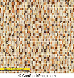 Retro abstract mosaic background