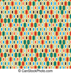 Retro abstract seamless pattern