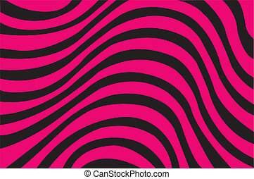 Retro Abstract Striped Background